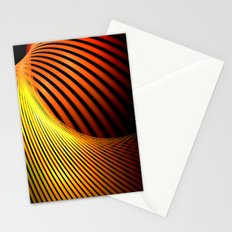 Fiery Motion and Elegance Stationery Cards