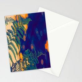 Farn im Abendlicht Stationery Cards