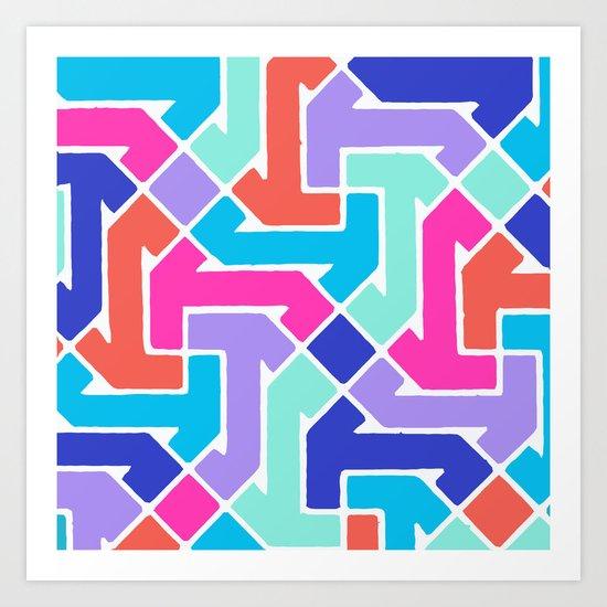 Azimuth 2 Art Print