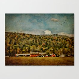 Artistic Farming Canvas Print