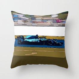 Formule 1 racing Throw Pillow