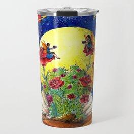 The shell of Venus Travel Mug
