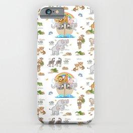 Noahs Ark Animals iPhone Case