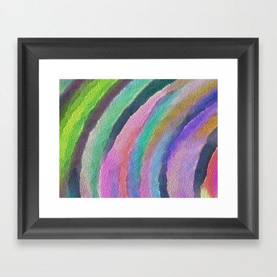 Color Arc Framed Art Print