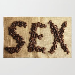 SEX - Coffee beans Rug