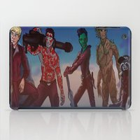 guardians of the galaxy iPad Cases featuring Guardians of the Galaxy Direction  by believeinbritboys