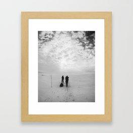 Forward Framed Art Print