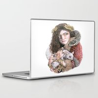 lorde Laptop & iPad Skins featuring Lorde by Susan Lewis