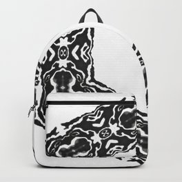 black snowflake Backpack