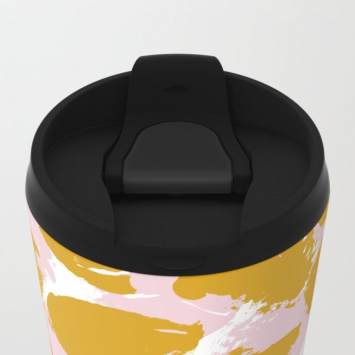 Pattern 062 Metal Travel Mug