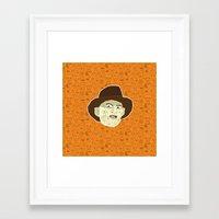 freddy krueger Framed Art Prints featuring Freddy Krueger by Kuki