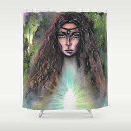 Forest Fairy Shower Curtain