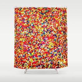 Sugar Candy Rainbow Balls Shower Curtain