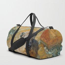 African Rock Hyrax Duffle Bag