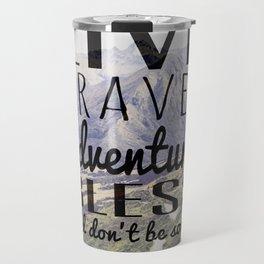 Jack Kerouac- Mountains Travel Mug