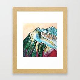 Alyeska Mountain at Jack Sprat Framed Art Print