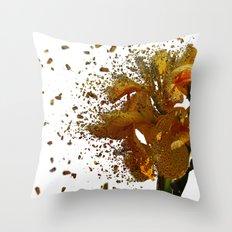 Iris Explosion Throw Pillow