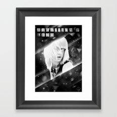 Satellite's gone Framed Art Print