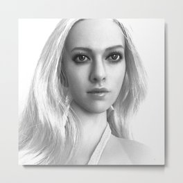 Sabrina Summer Portrait. Metal Print
