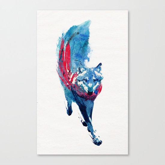 Lupus Lupus Canvas Print