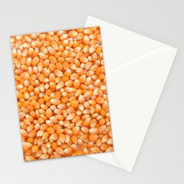 Popcorn maize Stationery Cards