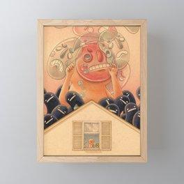 Strange Feeling Framed Mini Art Print