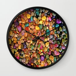 Gems of the Mines Wall Clock