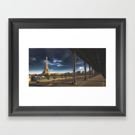 We'll always have Paris... Framed Art Print