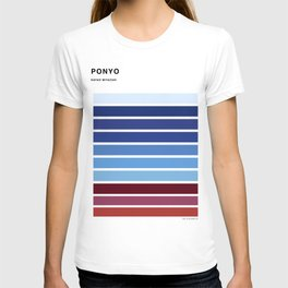 The colors of - Ponyo T-shirt
