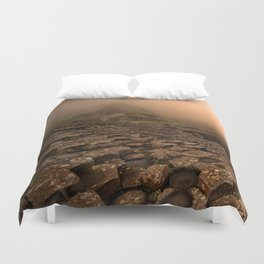 When the sun is going down Duvet Cover