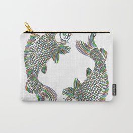 Pisces the Fishes Carry-All Pouch