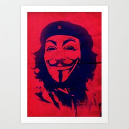 Expect Che Art Print