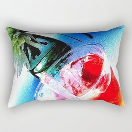Tropical Drink Rectangular Pillow