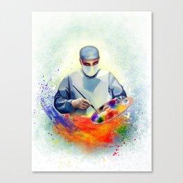 The Art of Medicine Canvas Print