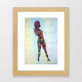 Cuerpo 2 Framed Art Print