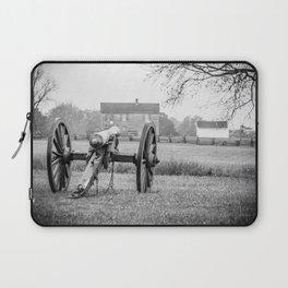 Melancholy Cannon Henry House Manassas National Battlefield Park Virginia Civil War Battelground Laptop Sleeve