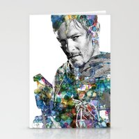 daryl Stationery Cards featuring Daryl Dixon by NKlein Design