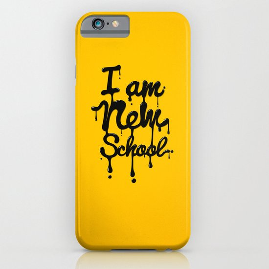 I am new school! iPhone & iPod Case