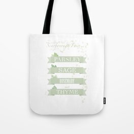 Scarborough fair Tote Bag