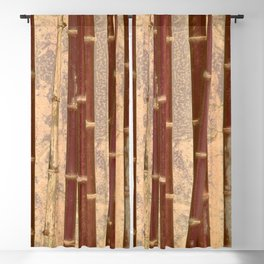 Vintage Bamboo Design #buyart #society6 Blackout Curtain