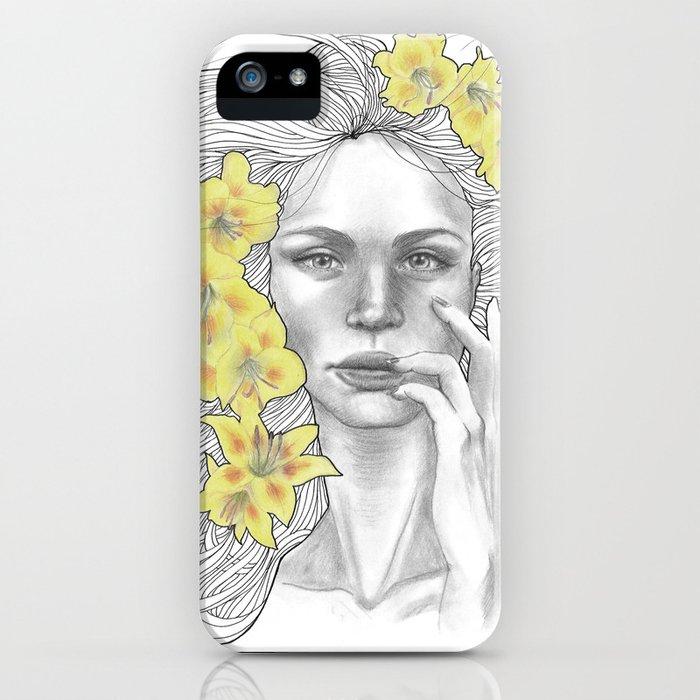 Azucena iPhone Case