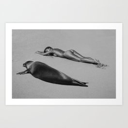 Marisa Papen - Plastic Sushi Art Print