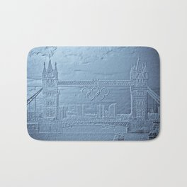 Tower Bridge art Bath Mat