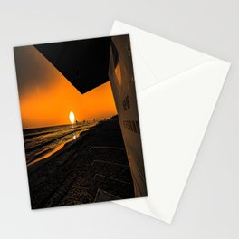 On Golden Tower Stationery Cards