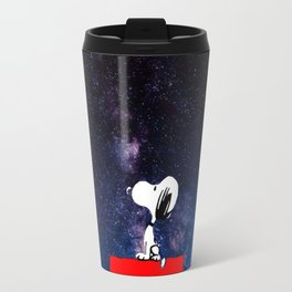 Snoopy Galaxy Nebula Travel Mug