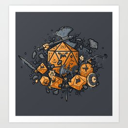 RPG UNITED Art Print