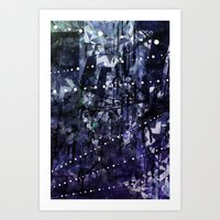 Frozen in place Art Print