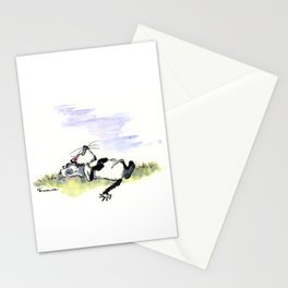 Afternoon Siesta Cat Nap Art Stationery Cards