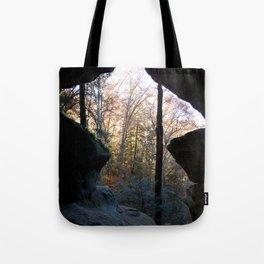 Rock House, Hocking Hills, Ohio Tote Bag