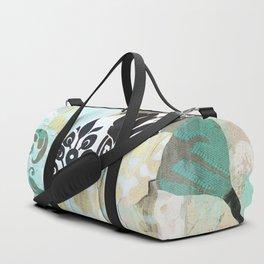 Hummingbird Batik II Duffle Bag